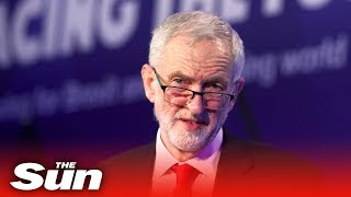 Jeremy Corbyn takes questions the day after seven MPs resign - THESUNNEWSPAPER