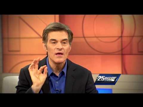 Dr. Oz describes how to properly pop a pimple
