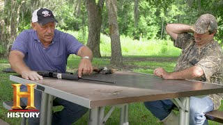 Swamp People: Troy and Gee on Misfiring Guns (Season 9) | History - HISTORYCHANNEL