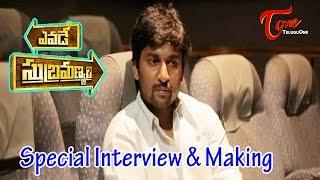 Yevade Subramanyam Movie Making   Chit Chat With Hero Nani - TELUGUONE