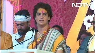 वाराणसी: कार्यकर्ताओं के बीच पहुंचीं प्रियंका गांधी - NDTVINDIA