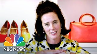 Fashion Designer Kate Spade Laid To Rest | NBC News - NBCNEWS