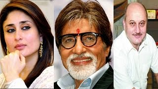 Bollywood News in 1 minute - Kareena Kapoor, Amitabh Bachchan, Anupam Kher