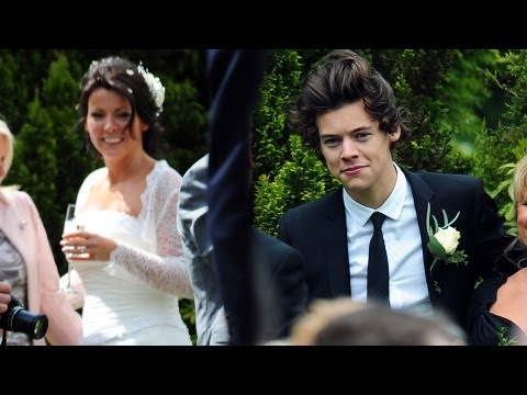 Harry Styles Walks Down the Wedding Aisle!