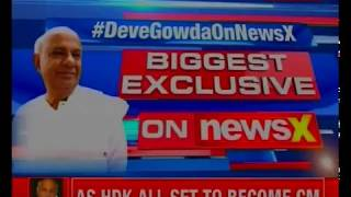 Exclusive: Deve Gowda speaks to NewsX, says will play key role in coalition - NEWSXLIVE
