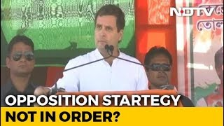 Rahul Gandhi Attacks Mamata Banerjee: Opposition Strategy Not In Order? - NDTV
