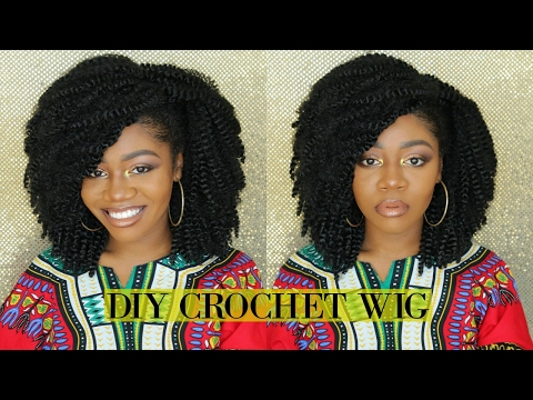 The Perfect Kinky Curly Afro | $35 DIY Natural Looking Crochet Wig | Quick & Easy ft MotownTress