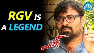 Ram Gopal Varma Is A Legend - Anji || Attack Movie || Talking Movies with iDream - IDREAMMOVIES