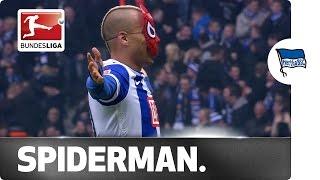 بالفيديو – لاعب تونسى يكشف سبب إحتفال «سبايدرمان»