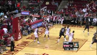 Anthony Davis Huge Alley Oop Over Terrence Jones