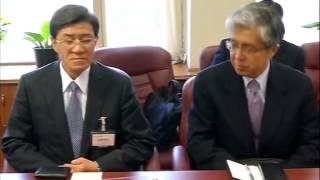 27, Feb 2015 - Hitachi chief meets Indian minister, discusses business projects - ANIINDIAFILE