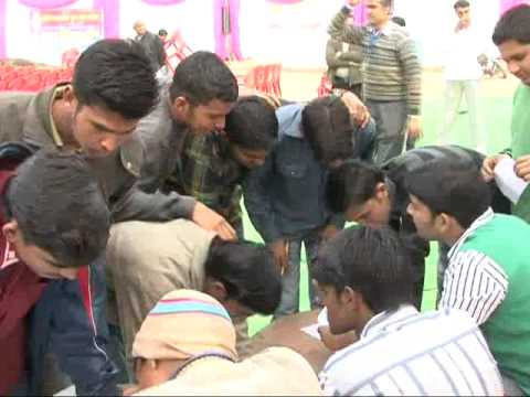 Part 2 - Mega Camp for Indian Army on 14/02/2012