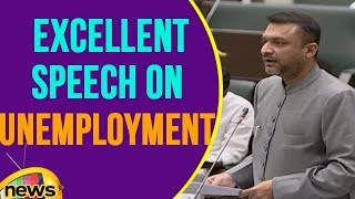 Akbaruddin Owaisi Excellent Speech On Unemployment | Telangana Assembly | Mango News - MANGONEWS