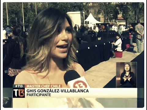 Actriz Ghis González-Villablanca critica en medio europeo versión chilena de Masterchef