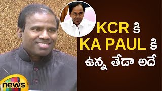 KCR Vs KA Paul | Difference Between KCR Kit Scheme Vs KA Paul Kit | AP Politics | Mango News - MANGONEWS