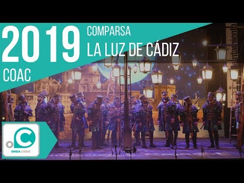 Sesión de Preliminares, la agrupación La luz de Cádiz actúa hoy en la modalidad de Comparsas.