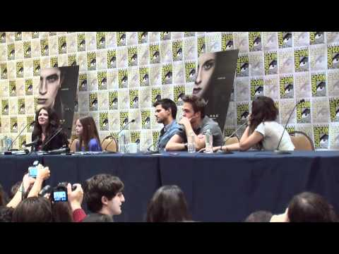 Comic Con 2012 - 'Twilight Saga: Breaking Dawn pt 2' Panel Part 3 of 3