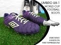 Video: UX-1 Football Boot 2014 von umbro: Unboxing, Hands-on  First Impressions from Footy-Boots