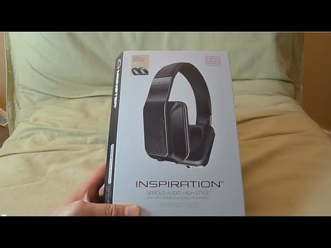 """First Look"" Monster Inspiration (Passive Noise Isolating) headphones unboxing"