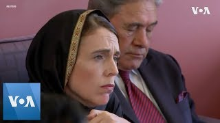 NZ Mosque Shootings: PM tells Muslims in Christchurch New Zealand is united in grief - VOAVIDEO