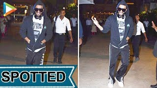 DASHING Ranveer Singh SPOTTED at Otters Club, Bandra - HUNGAMA