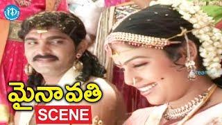 Mynavathi Movie Scenes - Amar Singh Marries Mynavathi || Chitralekha, Anil - IDREAMMOVIES