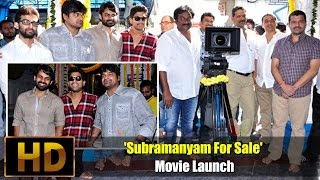 'Subramanyam For Sale' Movie Launch - IGTELUGU