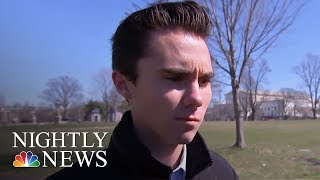 Marjory Stoneman Douglas Students Arrive In Washington For 'March For Our Lives' | NBC Nightly News - NBCNEWS