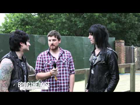 Glamour Of The Kill  Interviewed by Bring The Noise UK at Sonisphere Festival UK 2011