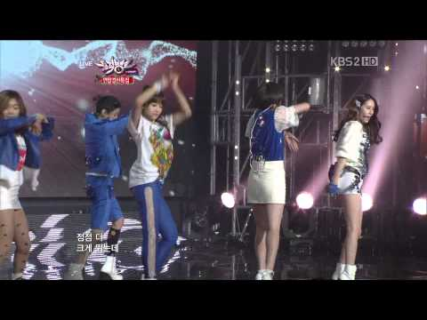 121221 Music Bank f(x) - Electric Shock