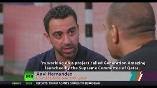 The Stan Collymore Show: Xavi, Mark Bosnich and 2018 FIFA World Cup kick-off - RUSSIATODAY