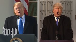 SNL's Trump emergency declaration vs. the real thing - WASHINGTONPOST