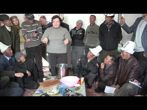 How to prepare cured meat basturma - Part II (courtesy of an FAO project in Tajikistan)