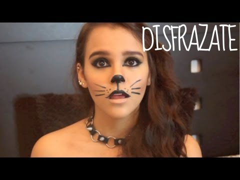 Maquillaje para Halloween♥ Gato