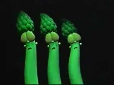 The Veggie Tales the bunny song