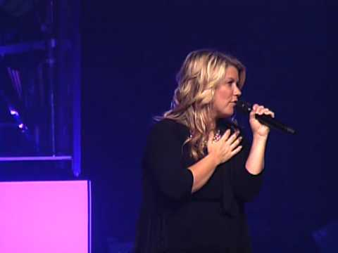 "Natalie Grant singing ""In Christ Alone"" Live @ Sunset Christian Center"