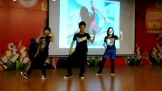 Sinh viên Công nghiệp nhảy cổ động, phòng chống HIV/AIDS