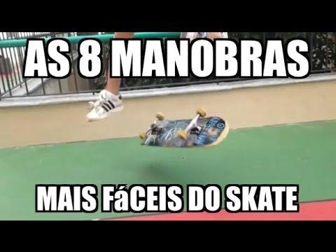 As 8 manobras mais fáceis do skate para iniciantes - the 8 easiest skateboard tricks