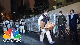 Khashoggi Investigators Leave Saudi Consulate With Bags And Boxes After Second Search | NBC News - NBCNEWS