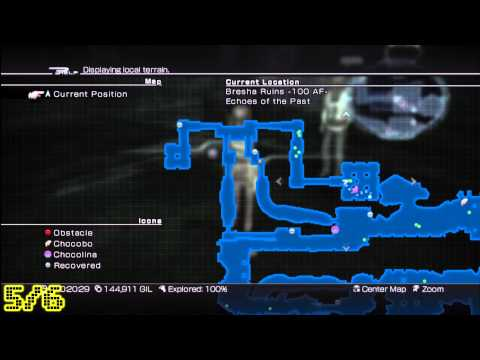 Final Fantasy XIII-2 Fragment Locations: Bresha Ruins (100 AF) - HTG