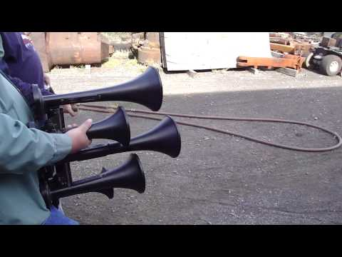 Southern Nathan P5 Air Chime Air Horn (Train Horn) Test Blow