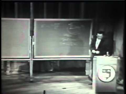 Richard Feynman  - The.Character of Physical Law - Part 1 The Law of Gravitation (full version)