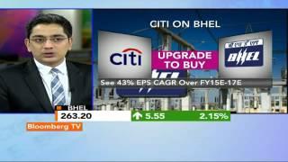 Market Pulse: Citi Upgrades BHEL - BLOOMBERGUTV