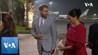 Britain's Prince Harry and Meghan Markle Arrive in Morocco for Royal Visit - VOAVIDEO
