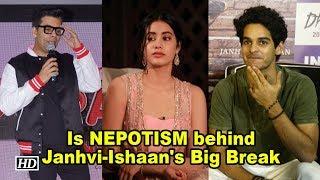 Janhvi-Ishaan Big Bollywood Debut   The story Behind - IANSINDIA