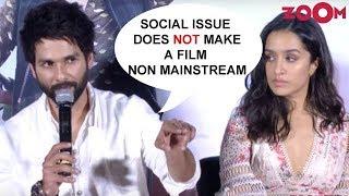 Shahid Kapoor On 'Batti Gul Meter Chalu' Being Mainstream Movie   Trailer Launch - ZOOMDEKHO