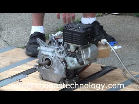 HHO Gas and Gasoline Professional Welding Machine Running a 5.5 Honda Engine 6-25-2013