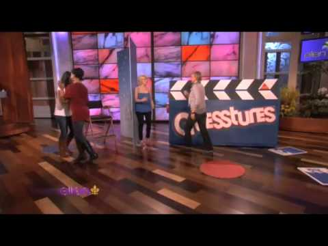 Kellie Pickler and Ellen Face Off in Guesstures