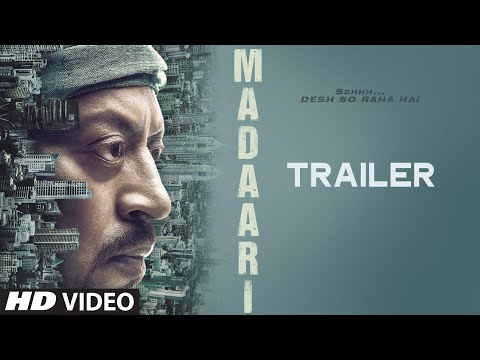 MADAARI Official Trailer 2016 | Irrfan Khan, Jimmy Shergill