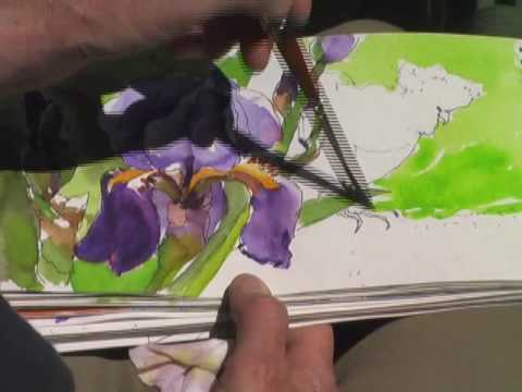 Sketching the Spring Garden: Pen and Watercolor with Susan Cornelis